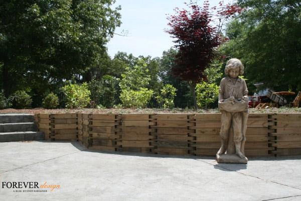 cindy barganier designer wood landscaping