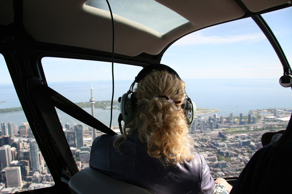 See Toronto from the air with Toronto Helitours!