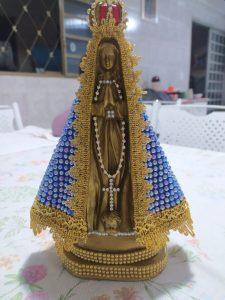 Imagem de Nossa Senhora de Aparecida padroeira do Brasil