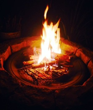 positive thoughts firepit e