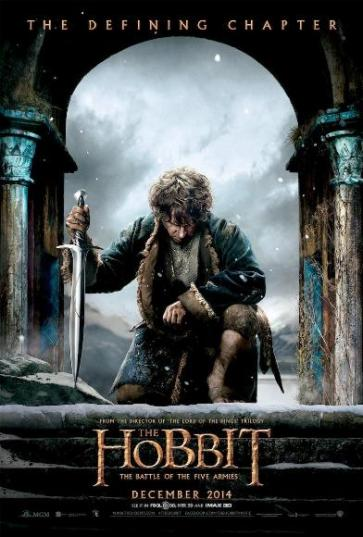 the hobbit the battle of five armies poster e