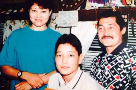Almas and parents e
