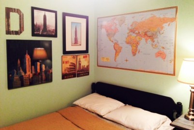 Where in the World Dayans room e