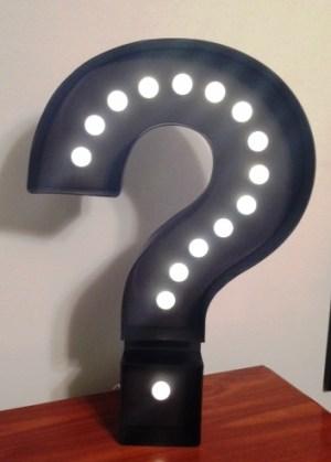 Where in the World question mark e