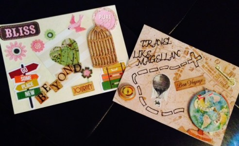 Mail Art Dayan and Cindy
