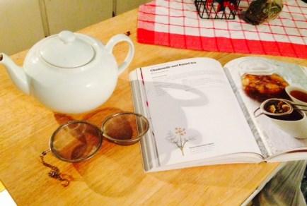chamomile and fennel tea