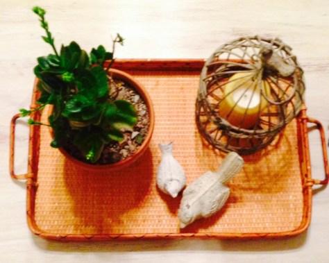 treasures wooden tray
