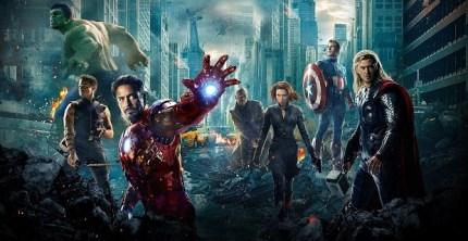 Avengers hero shot