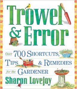 garden tricks trowel and error