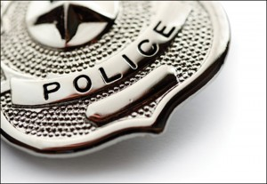 National police week badge