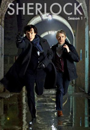 sherlock season one poster