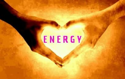 energy work heart hands