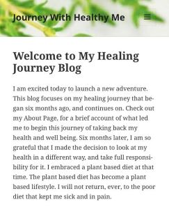 Art a Little More Robust-Blogging, Journey With Healthy Me