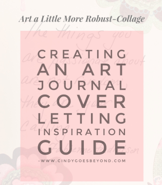 Creating an Art Journal Cover