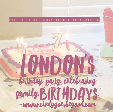 London's Birthday Party
