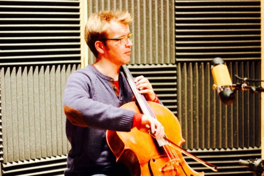 A Cellist Creates A Little Chaos