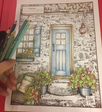 An Evening of Coloring