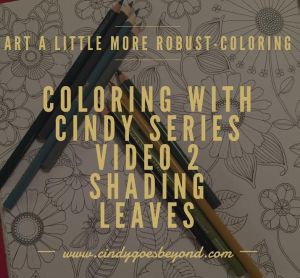 Coloring with Cindy Series