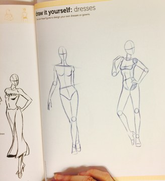 Drawing Exercise-From a Garment