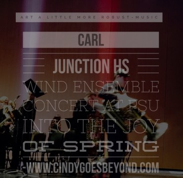Carl Junction HS Wind Ensemble Concert at PSU