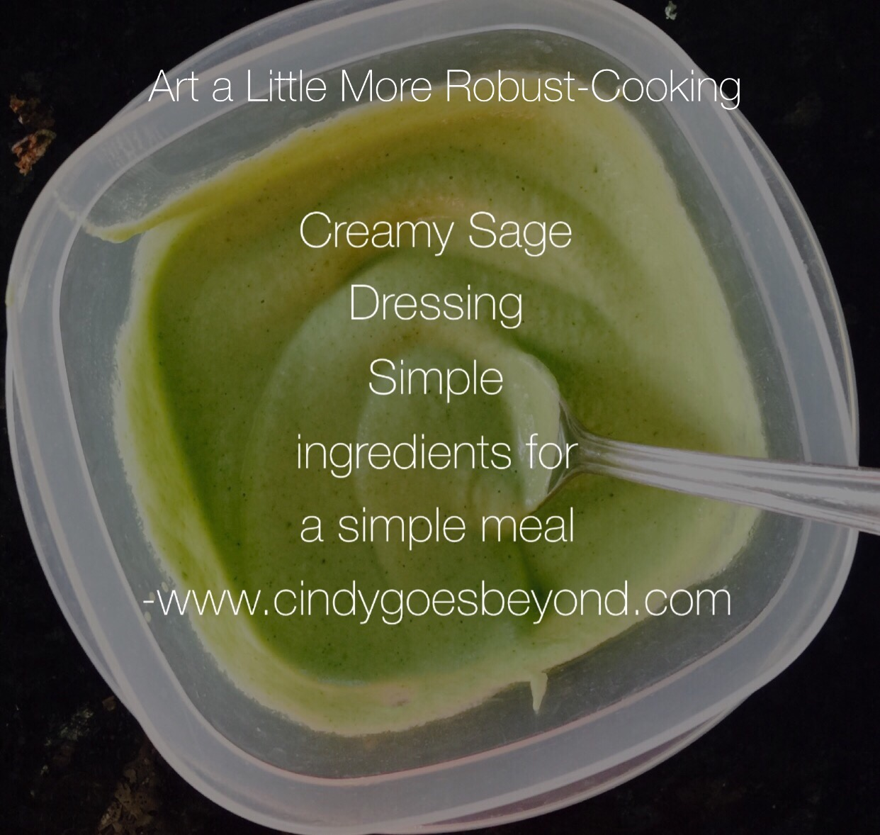 Anthony williams medical medium bad reviews - Creamy Sage Dressing