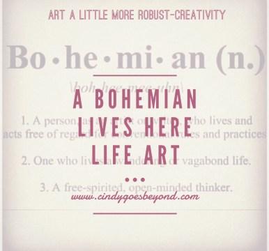 A Bohemian Lives Here