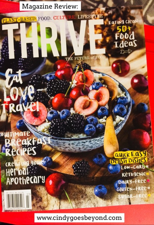 Magazine Review: Thrive