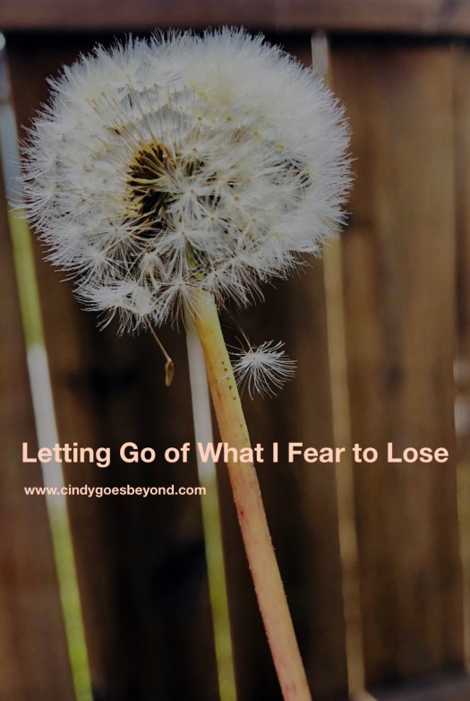 Letting Go of What I Fear to Lose