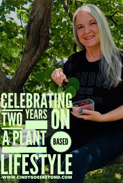 Celebrating Two Years on a Plant Based Lifestyle