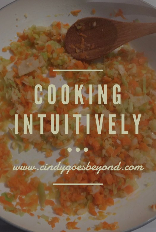 Cooking Intuitively
