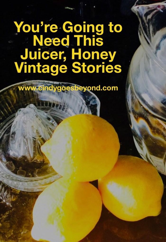 You're Going to Need This Juicer Honey