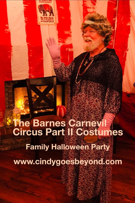 The Barnes Carnevil Circus Part II Costumes
