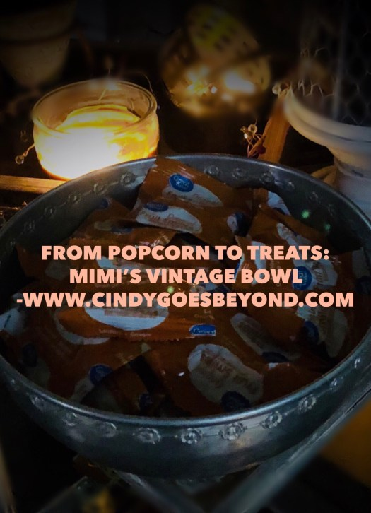 From Popcorn to Treats: Mimi Leta's Vintage Bowl
