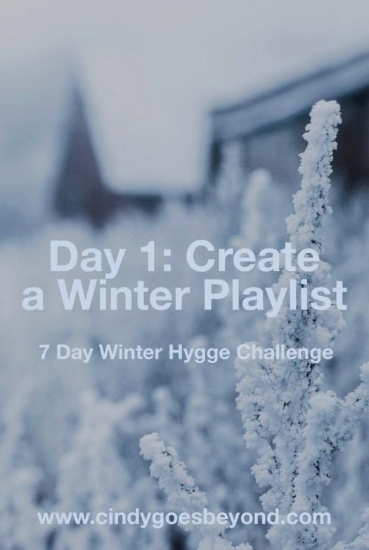 Day 1: Create a Winter Playlist