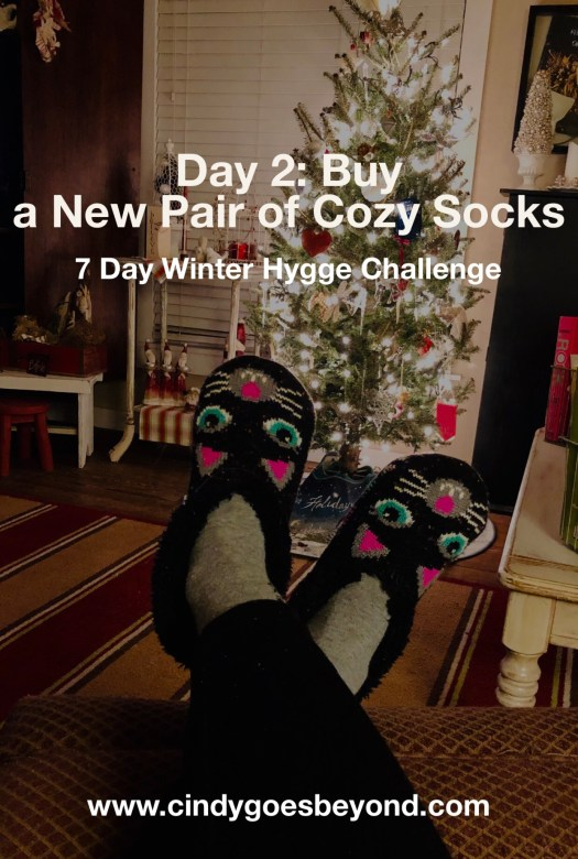 Day 2: Buy a New Pair of Cozy Socks