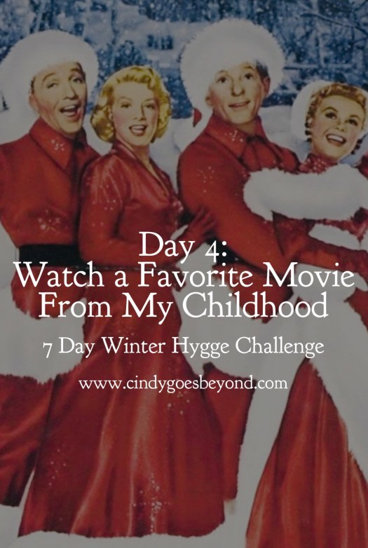 Day 4: Watch a Favorite Movie From My Childhood