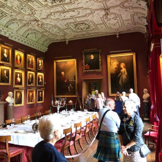 Thirlestane Castle Dining Room