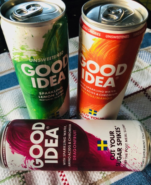 Good Idea Sparkling Mealtime Beverage Flavors