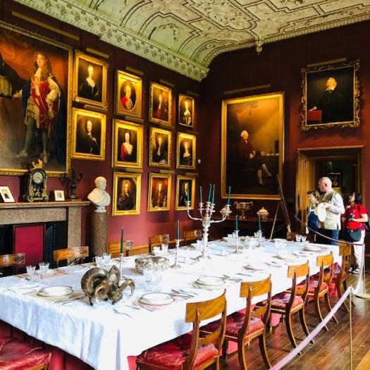 Thirlestane Castle Grand Dining Room