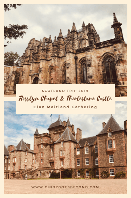 Rosslyn Chapel & Thirlestane Castle title meme