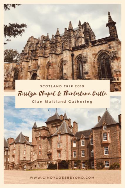 Rosslyn Chapel & Thirlestane Castle title meme