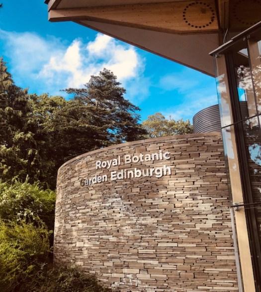 Royal Botanic Garden Entrance