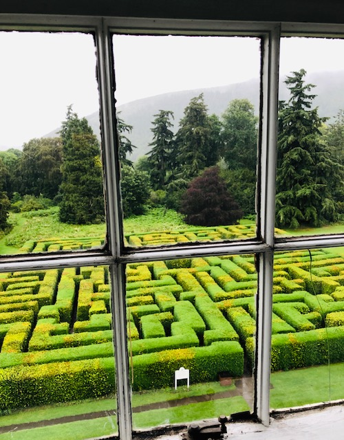 Maze at Traquair