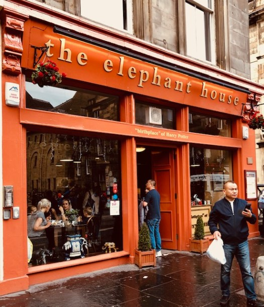 The Elephant House in Old Town