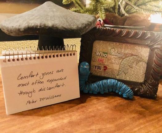 Going Beyond Comfort Zones Flip Calendar