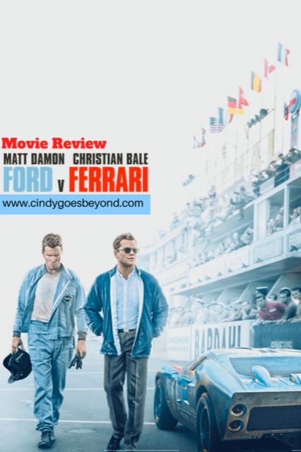 Ford v Ferrari title meme