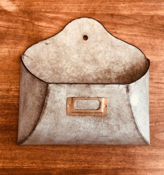 Decocrated Metal Envelope