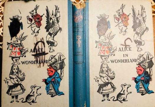 Year of Curiosity Alice in Wonderland Book