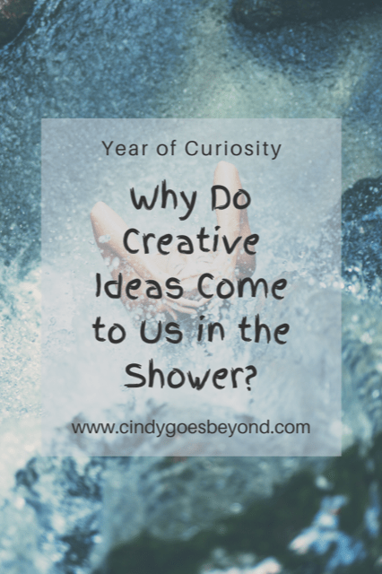Why Do Creative Ideas Come to Us in the Shower title meme