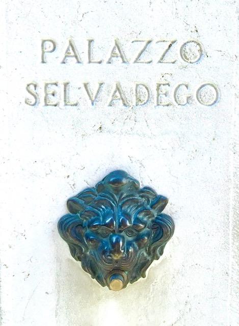 Palazzo Selvadego doorbell